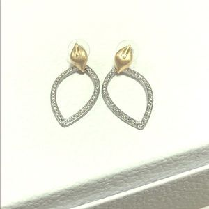 Brand New Banana Republic Gold and Silver Earrings